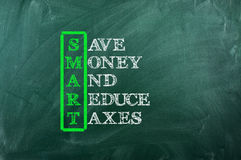 Smart tax Royalty Free Stock Images