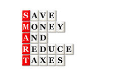 Smart taxes Royalty Free Stock Photo