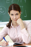 Smart teacher Royalty Free Stock Photography