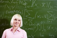 Smart teacher Royalty Free Stock Photo