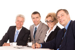 Smart team portrait Royalty Free Stock Photos