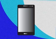 smart telefon stock illustrationer