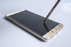 smart telefon Arkivbild