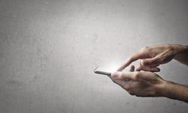 smart telefon arkivbilder
