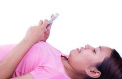 Smart telefon för lek Royaltyfri Fotografi
