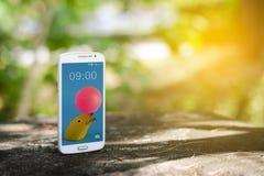 Smart telefon för mobil Arkivfoto