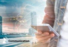 Smart telefon för mobil Royaltyfri Fotografi