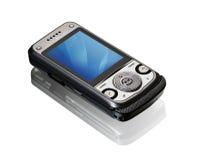 Smart telefon för ny teknik. Royaltyfri Bild
