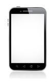 Smart telefon med den tomma skärmen vektor illustrationer