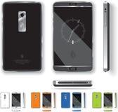 Smart telefondesign Arkivbild