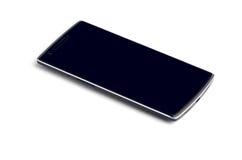 Smart telefonslut som isoleras upp på vit Royaltyfria Foton