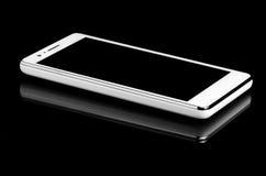 Smart telefonslut upp med reflexion Royaltyfri Foto