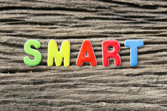 Smart text Royalty Free Stock Photos