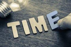 Smart Time Management Stock Image