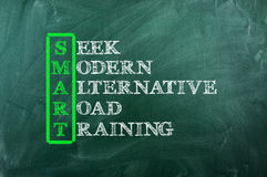Smart training Stock Photography