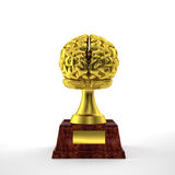 Smart trophy Stock Photography