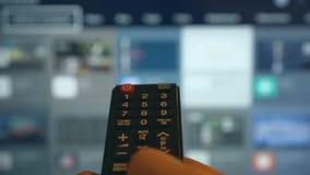 Smart TV stock video