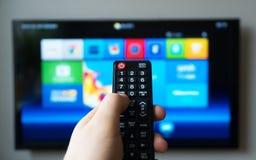 Smart TV Images libres de droits