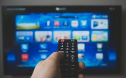 Smart TV Images stock