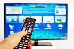 Smart TV Photo libre de droits