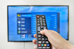 Smart tv Stock Photos