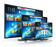 Smart TV stock de ilustración