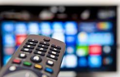 Smart TV photographie stock libre de droits