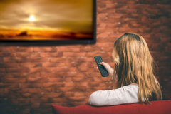 Smart TV Images libres de droits