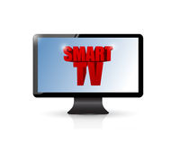 Smart tv illustration design Royalty Free Stock Images
