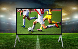 Smart tv led monitor Royalty Free Stock Photography
