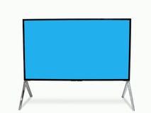 Smart TV a mené le moniteur Photo libre de droits