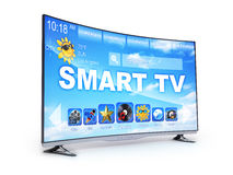 Smart TV seulement Photographie stock libre de droits