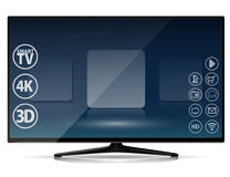 Smart TV Stock Image