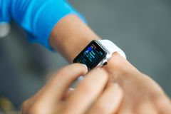 Smart Watch Apple Stock Photos