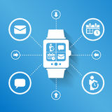 Smart watch for business Stock Photos