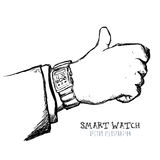 Smart watch Royalty Free Stock Photography