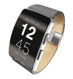 Smart watch and fitness tracker Stock Photo
