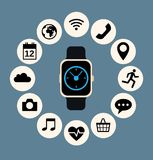 Smart watch Royalty Free Stock Images