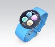 Smart watch  on gray background Stock Photo