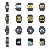 Smart Watch Icon Flat Stock Photos