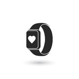 Smart watch icon Stock Images