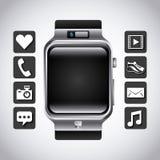 Smart watch icon royalty free illustration