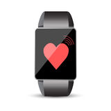 Smart watch. Icon vector Stock Images