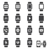 Smart watch icon Royalty Free Stock Photography