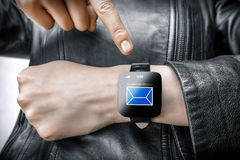 Smart watch Stock Image