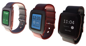 Smart watch Royalty Free Stock Photos