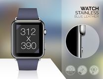 Smart watch isolated Royalty Free Stock Image