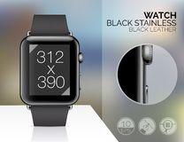 Smart watch isolated Royalty Free Stock Photo