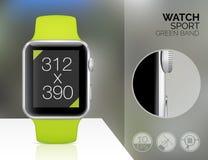 Smart watch isolated Stock Image