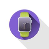 Smart watch. iWatch. Royalty Free Stock Photos